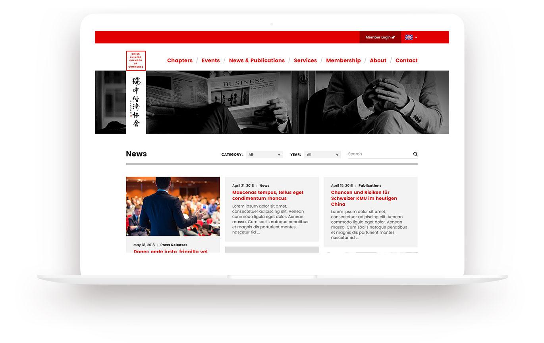 SCCC Webseite