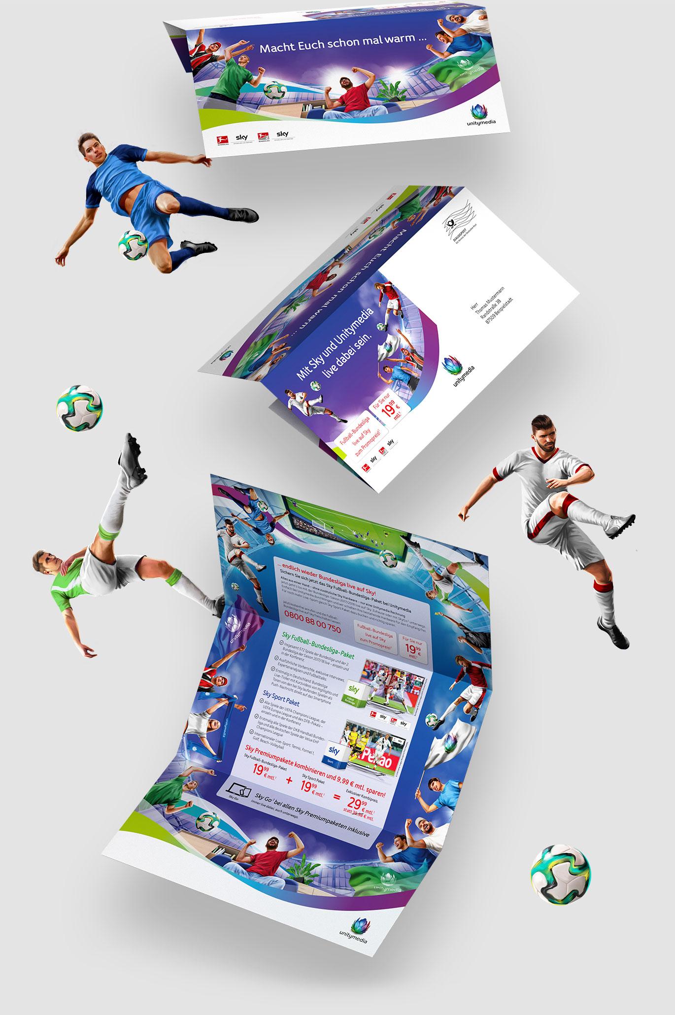 UnityMedia Illustration Mailing