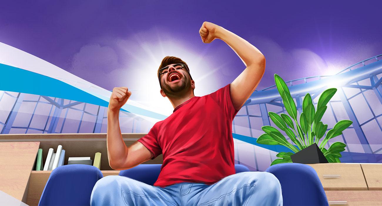 UnityMedia Illustration