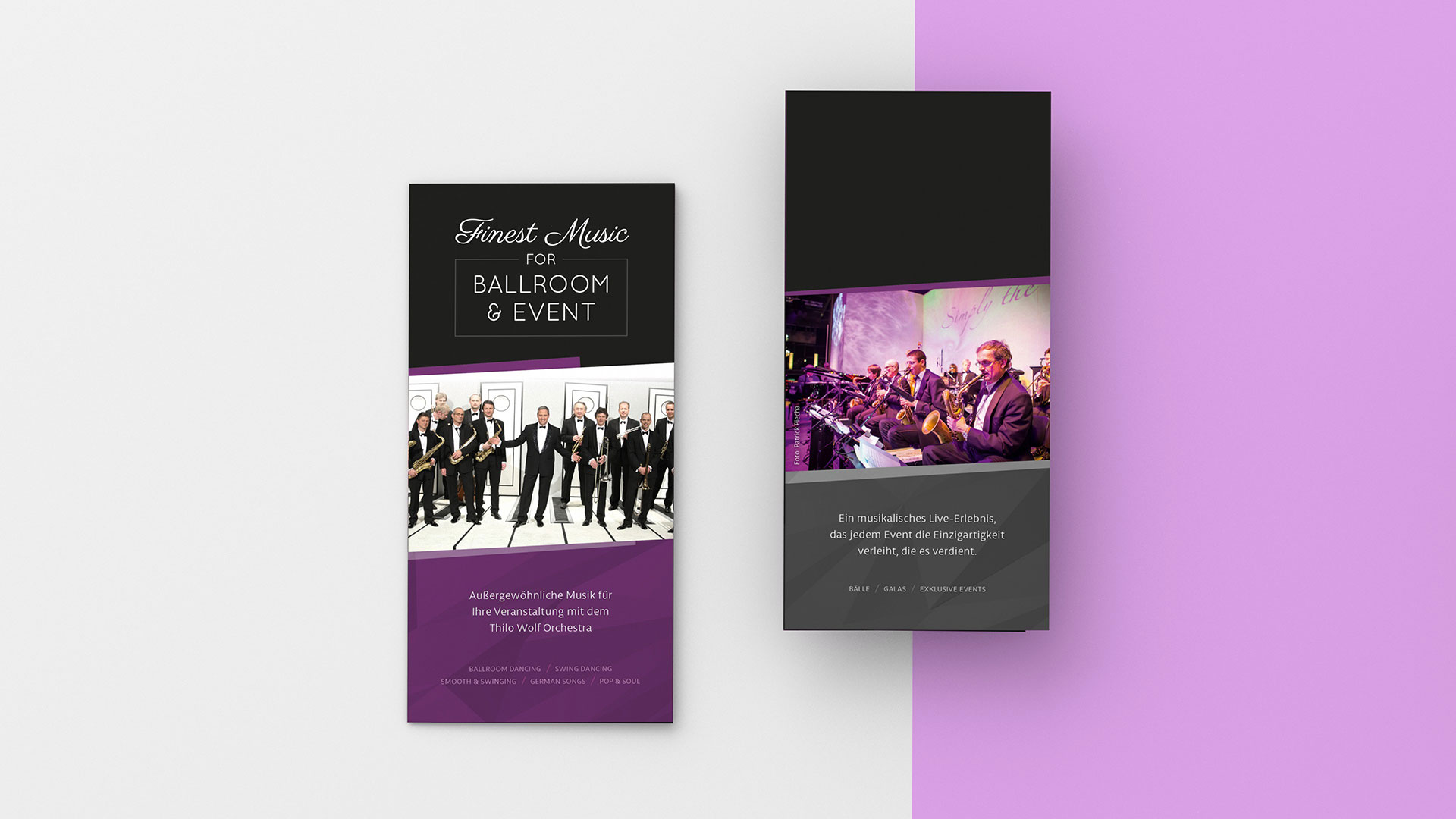 Flyer Finest Music for Ballromm & Event