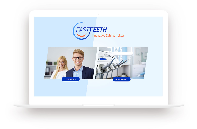 Fasteeth Webdesign