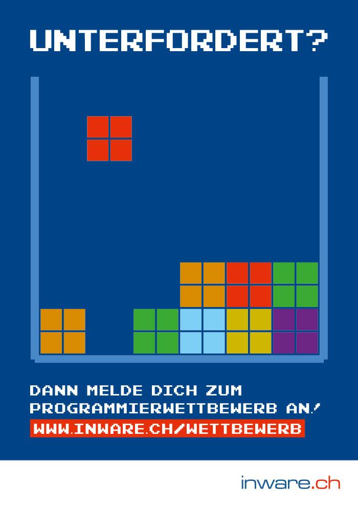 Plakat Programmierwettbewerb