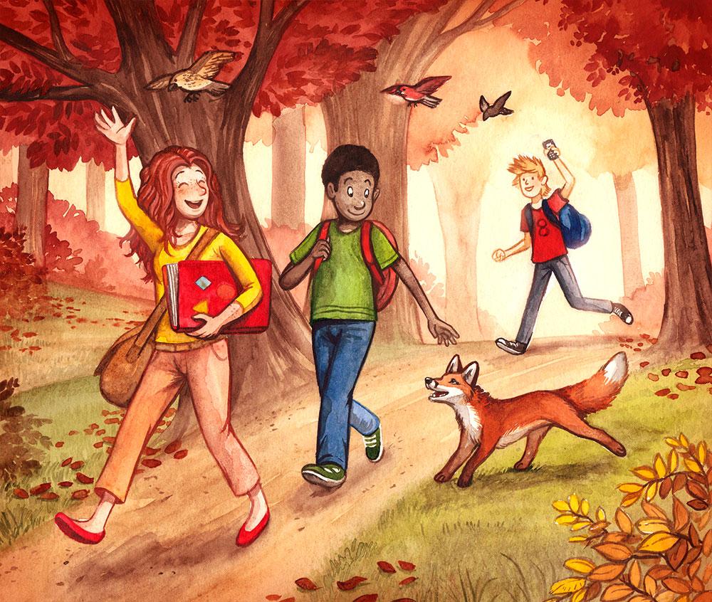 Lernbuch Illustration